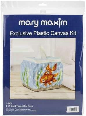 Mary Maxim Plastic Canvas Tissue Box Kit 5