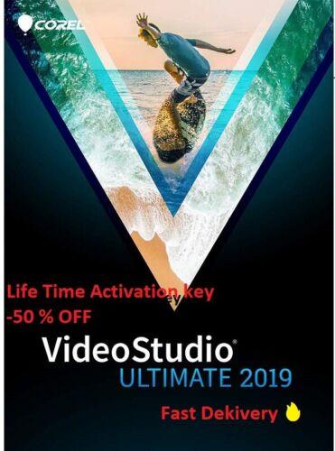 Corel VideoStudio Ultimate 2019🔥Life Time Warranty Key Fast Full activation