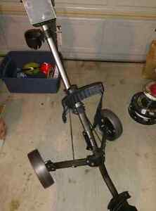 COLLAPSIBLE GOLF CARRIAGE - EXCELLENT CONDITION