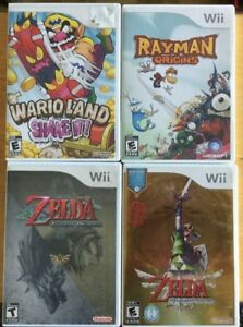 Wario Land / Rayman Origins / Zelda Skyward Twilight..
