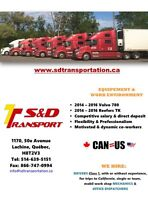 Truck Driver Class 1 for California