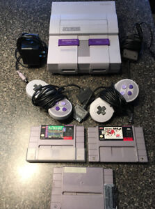 Super Nintendo Entertainment System for sale in Burlington!