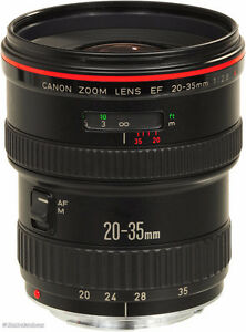canon L lens f 2.8 Wide Angle Lens with Lens Hood