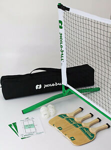 Pickle Ball - Complete Set. Net, Paddles, Balls, Rules, Bag London Ontario image 1