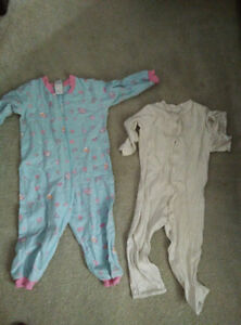 Sleepers and pyjamas for toddler 18-24 month -- 7 piece in total Gatineau Ottawa / Gatineau Area image 2