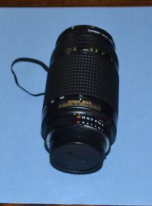 Nikon 70mm - 300 mm AF Nikkor telephoto zoom lens F4.0 - 5.6D