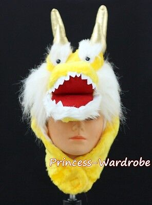 For Halloween Chinese Legendary Dragon Hat Costume ONE Free Size Gift Present
