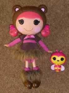 Lalaloopsy TEDDY HONEY POTS  With BUMBLE BEE PET