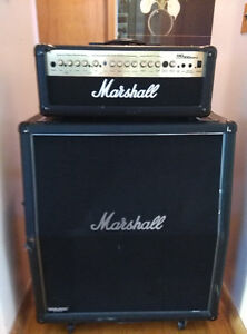 Marshall Amp and Cabinet, Half Stack