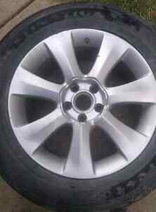 R18 255/55     5 × 114.3     1 set 4 tires and rims