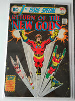 DC RETURN OF THE NEW GODS #13 Apr 1976 Vintage Comic Fine Shape Longueuil / South Shore Greater Montréal Preview