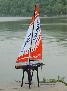 RC Sailboats ---   Monsoon 900 and Legend