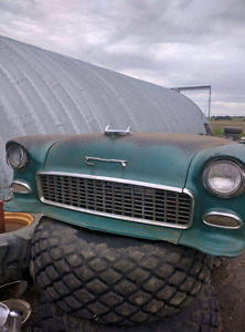 1955 chevy 210 /belair front end