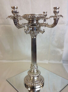 Silver Candleabra