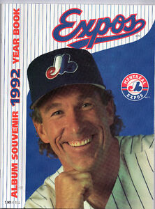 ALBUM SOUVENIR -YEARBOOK EXPOS 1992 GARY CARTER