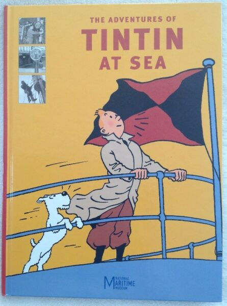 The Adventures of Tintin at Sea - National Maritime Museum - gift quality