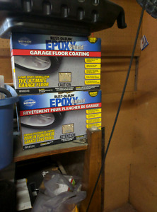 Rustoleum epoxy garage floor - cheap