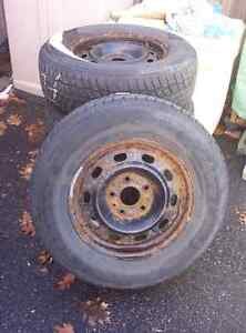 Winter Tires on Dodge rims