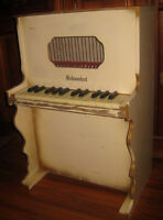 Toy Upright Schoenhut Piano With window