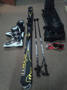 Skiing equipment.........  Paid $800 + Tax