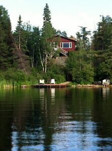 Red Rock Lake Cottage For Rent in Whiteshell Provincial Park