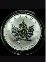 1 oz 99.99% pure silver RCM Maple leaf with Dragon privy 2012