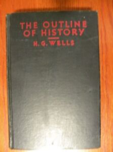 Antique book - The Outline of History