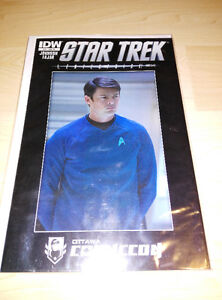 Ottawa Comiccon Exclusive Star Trek #32 I Enterprise Comic