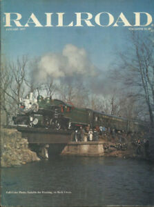 1977 RAILROAD  vintage train magazine EUCvery good excellent us