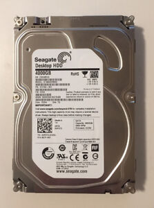Seagate 4TB HDD in External Enclosure