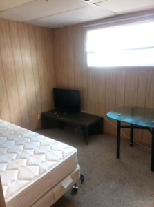 Furnished suite for rent in the north