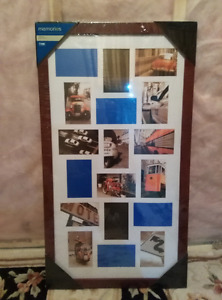 """Collage Frame 18 units of 6x4"""" photos - Brand New in packing"""