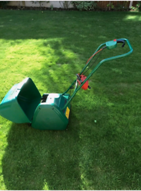 Qualcast electric drum lawnmower fully working