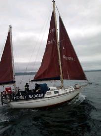 Nantucket clipper 31 sailing boat
