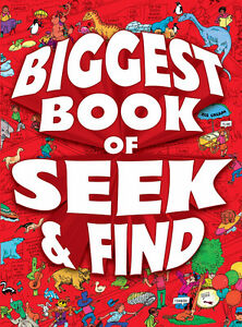 Brand New Biggest Book of Seek & Find Paperback
