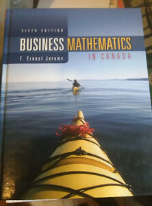 Business Mathematics In Canada by Jerome (6th Edition)