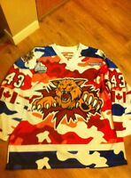 Game Worn-Autographed Wildcats Jersey