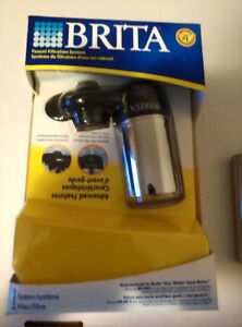 Brita Faucet Filtration System New