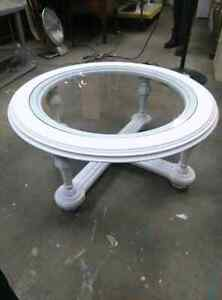 Solid wood glass coffee table London Ontario image 3
