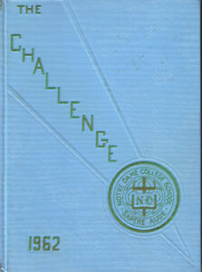 Notre Dame College Welland 1962 Yearbook
