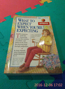What to Expect pregnancy book and baby care book