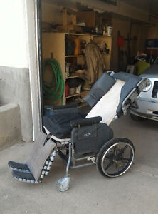 Broda wheelchair (convertible into a bed) for sale obo
