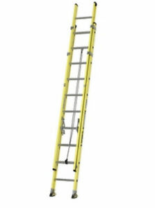 20 ft featherlite fiberglass extension ladder