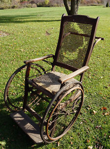 Antique wheelchair – 100+ years old