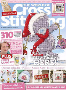 WORLD OF CROSS STITCHING issue 248 Sarnia Sarnia Area image 1