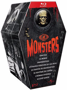 Universal Pictures Monsters - Édition Collector en Blu-Ray