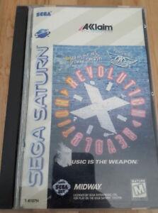 Aerosmith Revolution X Sega Saturn
