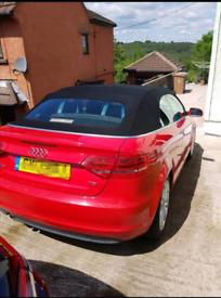 Audi A3 Convertible 2013. TDI
