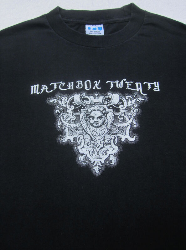 MATCHBOX 20 exile in america 2008 tour SMALL T-SHIRT concert