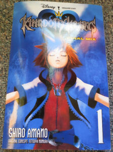 Kingdom Hearts 1 Manga (Tankobons) Volume 1 and 2 (complete)